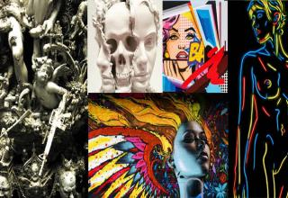 Some of the most eye catching and mind bending artwork in recent years from contemporary artists.