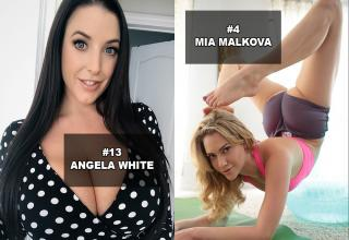 "The most popular names in porn that are rocking the New Year including Riley Reid, Mia Khalifa, Angela White, Mia Malkova, Abella Danger, Dillon Harper, Madison Ivy, Kendra Sunderland, and more! <br> <br> Want more? <a href=""https://www.ebaumsworld.com/pictures/the-25-hottest-trending-milf-porn-stars-of-2019/85884162/"" target=""_blank"">The 25 Hottest Trending MILF Porn Stars of 2019</a>, and the <a href=""https://www.ebaumsworld.com/pictures/hottest-porn-stars-of-summer-2019/86016331/"" target=""_blank"">Hottest Porn Stars of Summer 2019!</a> <br> <br> Also, check out <strong><a href=""https://www.ebaumsworld.com/pictures/the-top-hottest-porn-stars-of-2020/86159771/"" target=""_blank"">The 49 Hottest Girls in Porn in 2020!</a></strong> And the <strong><a href=""https://www.ebaumsworld.com/pictures/top-25-female-pornstars-that-are-owning-2020/86170681/"">Top 25 Female Pornstars That Are Owning 2020</a></strong>.  <br/><br/>Be sure to check out our list of <a href=""http://ebaum.it/psOwn21""><strong><u>Porn Stars Owning 2021</strong></u></a>."