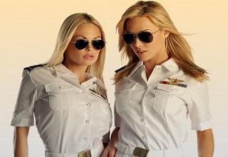 Whether dressed for duty or showing off their booty, these 14 hotties have it going on.