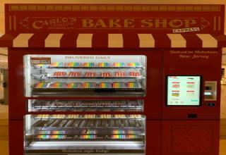vending machine - Carlo'S Bake Shop Ziiii Ii Express Haked in Hoboken, New Jersey Delivered Daily weig Lille Hoboken style baby!