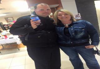 Here is a Picture of Frankie MacDonald with 2 of the Girls that are my fans and they like me so much and they watch my YouTube Videos and my Weather Reports and my Videos are Awesome all the time and more fans and girls are now attracting me and they get in a picture taken with me now.