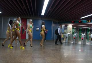 The famous Brazil pageant has new group of girls to win the championship butt contest.