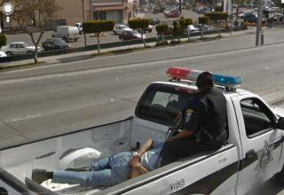 Best of the best that I could find from the many galleries out there. Prostitutes, accidents, crime scenes, animals, and whatever else. Google street view catches it all.
