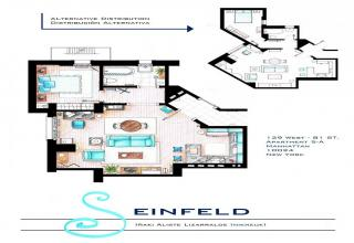 10 Detailed Floor Plans Of Tv Show Apartments