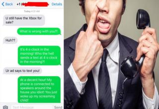 So many fails in this situation. The Craigslist guy doesn't understand how to post an ad or talk to people or what an Xbox One is. Part of me feels like this could be fake because of the group photo. (You'll see what I mean further down.).. .