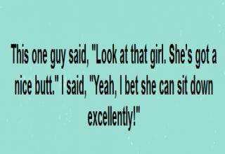 Funny dude.