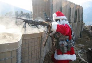 Santa down on his luck
