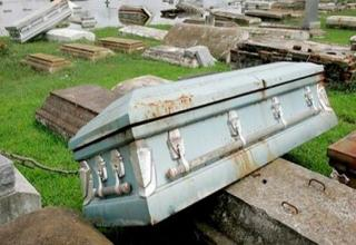 This may be morbid, but some people don't have the best of luck when it comes to the way they died.