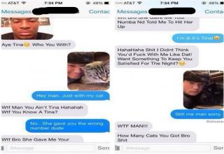 23 examples of how to handle a wrong number text.