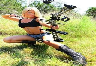 Female archers are so fit!