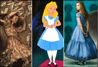 the many faces of Alice in wonderland