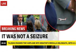 Hillary didn't have a seizure after all..