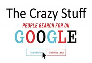 Most people these days turn immediately to Google when they need to find the answer to something, so to make this infographic Search Factory, an Australian-based SEO company, used Googles Keyword Planner Tool to gather these stats on the crazy stuff people actually search for on Google. The results were verylets say interesting.