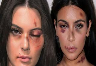Kim Kardashian and Kendall Jenner are kicking up a fuss after their photos were used without their permission to promote an extremely worthy cause – the #StopViolenceAgainstWomen campaign.