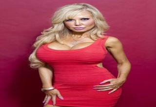 39 year old Blondie Bennett has undergone many surgeries to obtain her doll-like looks and spent over $38,000