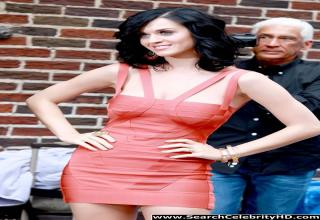 Katy Perry Red Hot Dress Shows Off Her Curves And Legs In NY - by Search Celebrity HD