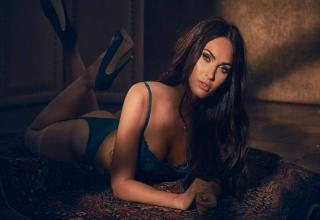 Megan Fox strips down in new lingerie campaign for  fredericks_hollywood.