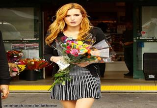"""Bella Thorne was born in Florida and has three siblings, Remy Thorne, Dani Thorne and Kaili Thorne. At the tender age of six weeks old, Bella shot her first pictorial for """"Parents Magazine""""."""