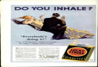 old tobacco ads