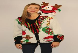 Need some ideas for ugly Christmas sweaters? Look no further.