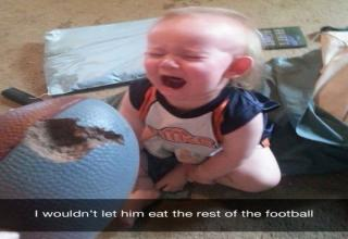 Here are 18 pictures that will make parents value a babysitter and a free Saturday night.