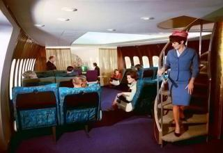 Back in the day, if you booked a first class airplane ticket you definitely got your money's worth!