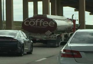 The Best Cup of Coffee on the Interstate during transport is Flammable! What's exactly in this cup of coffee??   • ebaumsworld.com/user/profile/dayvee • • facebook.com/thedayveechannel • • facebook.com/batmetalbydayvee •  • youtube.com/dayvee •