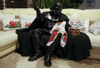 Just in time for the Force Awakens, A Ukrainian politician who legally changed his name to Darth Mykolaiovych Vader, invited a Reuters photojournalist to do a photo essay of his every day activities.