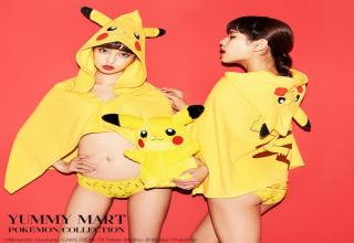 A New Collection of Lingerie in the Style of Pokemon