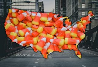Influenster surveyed 40,000 people to see what candies reign supreme in each state. Reese's Peanut Butter Cup raked in the highest total number of votes, followed closely by Kit Kat and Butterfinger. Somehow the candy selected by the most states was candy corn. See what candy your state holds near and dear to its heart below…