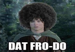 funny memes -  frodo baggins -  dat fro-do