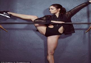 The 31-year-old, who has been a member of New York City's prestigious American Ballet Theatre since 2003, shows of her incredible dancer's figure in the new issue of W Magazine.