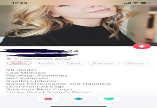 For the adventurous of us, Tinder can be quite a ride. The thing with online dating is that you never really know what to expect when you finally meet up with someone. It could be great or it could be terrible. If you'd rather view the ups and downs of Tinder from afar, have a look at our latest <a href=https://www.ebaumsworld.com/pictures/the-best-tinder-posts-of-the-week-17-memes/86517585/>memes</a> and laugh at the hilarious misfortunes of online dating.