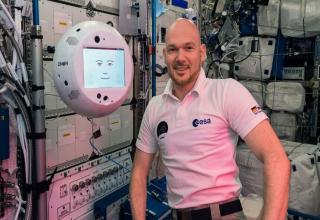 CIMON, an artificially emotionally intelligent robot, has been sent to the <a href=https://spotthestation.nasa.gov/>International Space Station</a> to keep the astronauts company. It's a bit weird looking, but maybe it holds great conversations. Interested in other weird, slightly wrong robots? Have a peep at the <a href=https://cheezburger.com/9949957/this-woman-makes-hilarious-shtty-robots>hilarious sh*tty robots</a> this inventor makes.