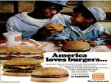 McDonalds and Burger King targeted African American Consumers in the 1970's by showing what they believed to be typical African American consumers enjoying their food. These ads all come from Jet, Ebony, and Essence Magazines from the 1970s.