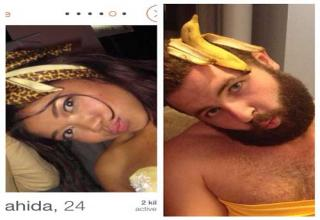 "Australian Tumblr user Jarrod Allen, aka ""Tinderfella"" has found a hilarious new way to poke fun at pretentious and ridiculous Tinder profile pics put up by ladies."