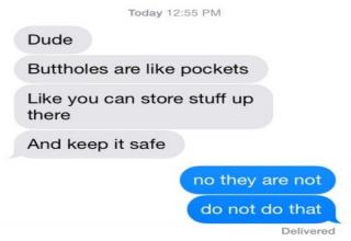 Wild text messages