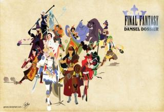 Beautiful alternate version of Disney princesses inspired from classic Final Fantasy characters. Check em all out!!