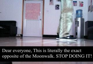 A step by step tutorial on how to Moonwalk.