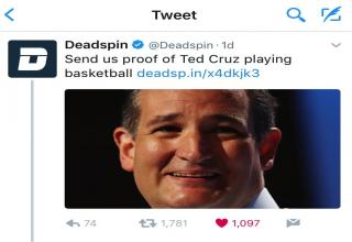 Ted Cruz with the quick comeback for the win!