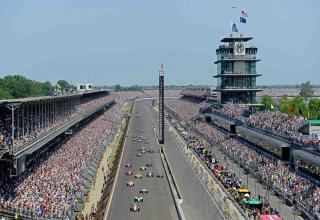 The Indianapolis Motor Speedway is 108 years old and it shows.
