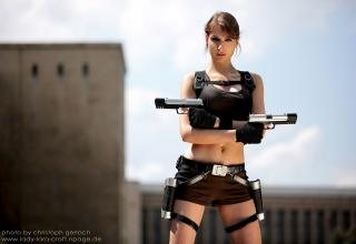 Pictures of Lara Croft cosplay