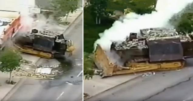 The Most Devastating Bulldozer Rampage In Modern History Wow Video