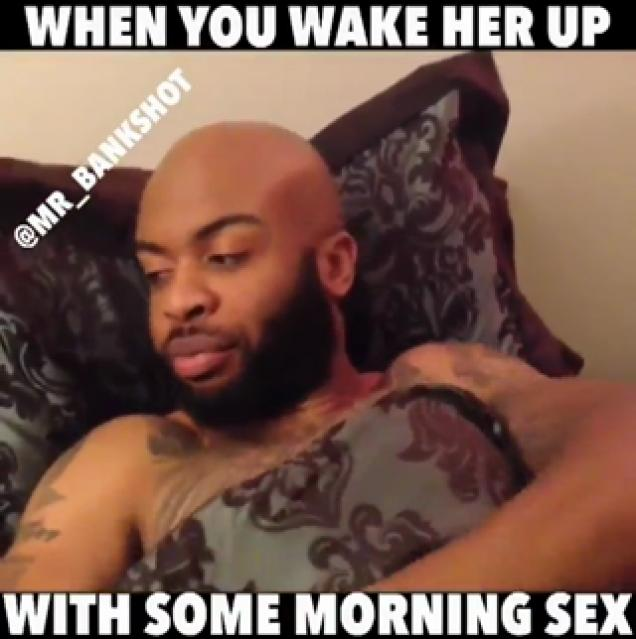 Wake Her Up Eating Her Pussy