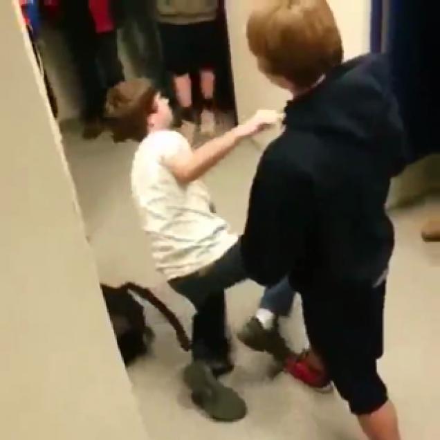 Ass hook video