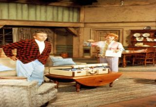 color pics from the set of I love Lucy