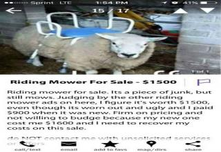 Craigslist Has Some Crazy Shit Happen On It - Funny Gallery