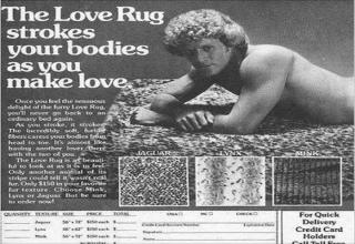 love rug - The Love Rug strokes your bodies as you make love. Once you feel the sensuous delight of the fury Love Rug. you'll never go back to an ordinary bed again. As you stroke, it stroke The Incredibly soft, fur fibers caress your bodies from head to