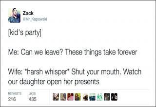 Funny tweets about parenting that parents can relate to.