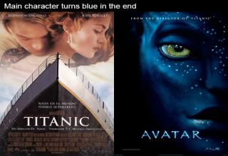 Completely different movies that have basically the same plot.